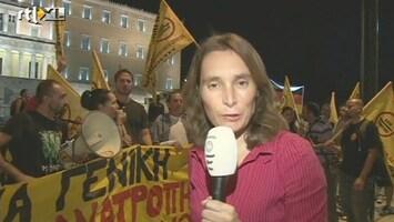 RTL Nieuws Merkel op bezoek bij woedende Grieken