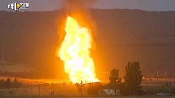 RTL Nieuws Gasleiding ontploft in Russische deelrepubliek Dagestan
