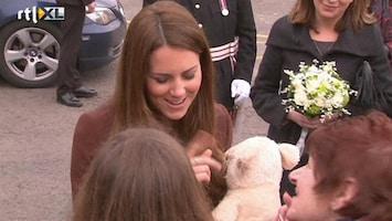 RTL Nieuws Zwangere Kate verklapt mogelijk geslacht kindje