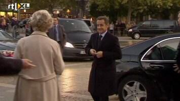 RTL Nieuws Baby Sarkozy laat Parijzenaren koud