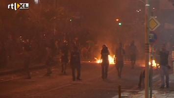 RTL Nieuws Rellen in Griekenland na moord op linkse rapper