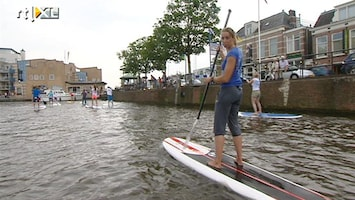 RTL Nieuws Nu ook in Nederland: stand up paddle