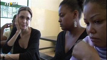RTL Nieuws Angelina Jolie bezoekt vluchtelingen