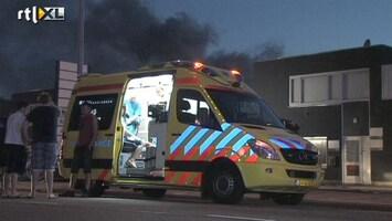 RTL Nieuws Brand in pizzeria Zoetermeer: één gewonde