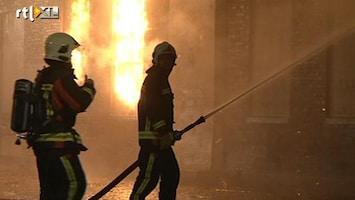 RTL Nieuws Noodverordening in Winschoten na branden
