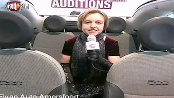 X Factor Fiat 500 Backseat Audtion: Irene