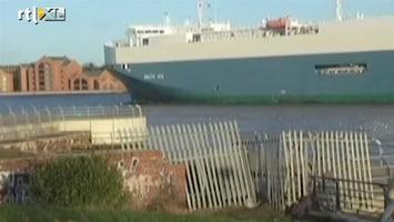 RTL Nieuws Weinig hoop voor vermiste opvarenden vrachtschip