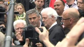 RTL Nieuws George Clooney gearresteerd op straat