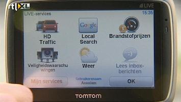 RTL Z Nieuws TomTom worstelt met navigatiemarkt