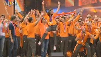 RTL Nieuws Den Bosch huldigt olympische helden