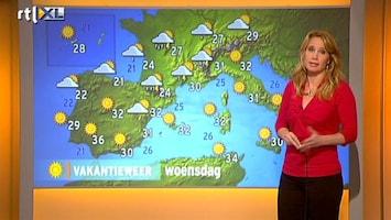 RTL Nieuws Vakantieweer: stevige onweersbuien in Frankrijk
