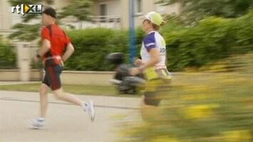 RTL Nieuws Emotionele finish na 520 km bij Roparun