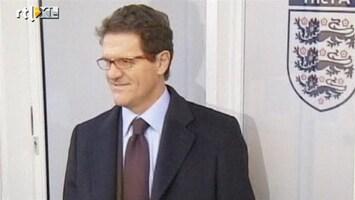 RTL Nieuws Engelsen in rep en roer om vertrek Capello