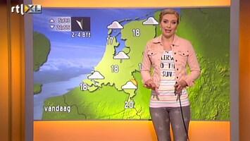 RTL Nieuws Frisse dag met motregen, na het weekend zomers warm