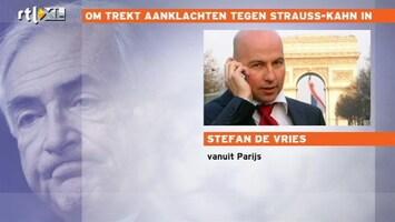 RTL Nieuws 'Vreugde in Frankrijk om DSK'