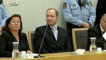 RTL Nieuws Eerste bewegende beeld Breivik
