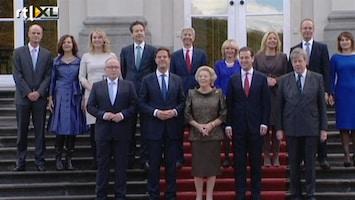 RTL Nieuws Bordesscène: Kabinet toont zich aan het volk