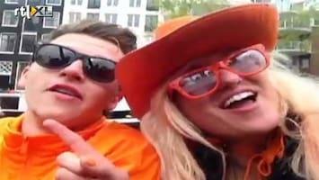 RTL Boulevard Bn'ers gaan los in Amsterdam