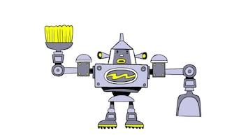 Doodle Maid robot
