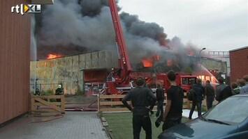 RTL Nieuws Vier panden afgebrand in Egmond