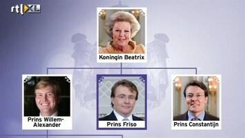 RTL Nieuws Prins Johan Friso is geen troonopvolger