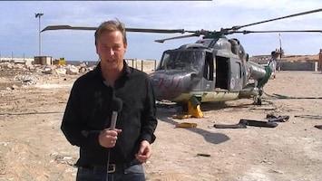 RTL Nieuws Exclusief: Beelden van Lynx-heli in Sirte