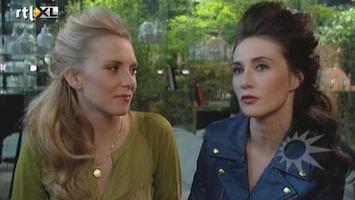 RTL Boulevard Carice en Jelka van Houten in koude kleren