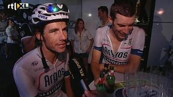 Rtl 7 Tour Du Jour - Feest Bij Het Argos-shimano Team