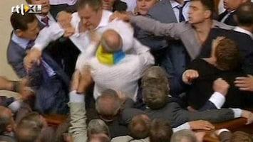 RTL Nieuws Knokpartij in parlement Oekraïne