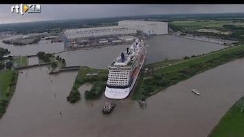 RTL Nieuws Cruiseschip past precies