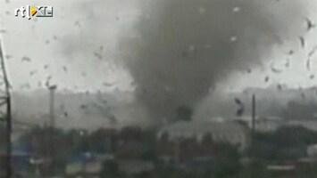 RTL Nieuws Ravage na zware tornado Rusland