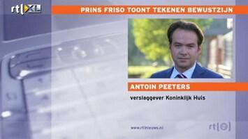 RTL Nieuws 'We wachten op een mededeling van de kroonprins'