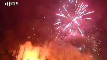 RTL Nieuws Brand met vuurwerk in Hillegom