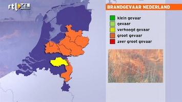 RTL Nieuws Opgepast! Brandgevaar door droogte!