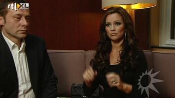 RTL Boulevard Interview Tatjana en vriend Peter