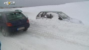 RTL Nieuws Extreem winterweer legt Oost-Europa plat