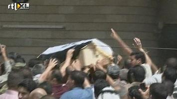 RTL Nieuws Begrafenis agenten na gevangenisoproer