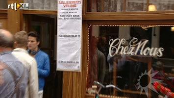 RTL Boulevard Eerste filmopnames Chez Nous