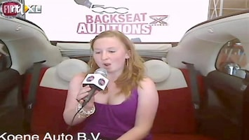 X Factor Fiat 500 Backseat Auditions: Nancy