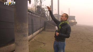 RTL Nieuws Extreem laag water in de rivieren