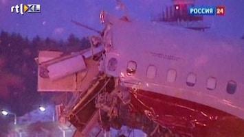 RTL Nieuws Vliegtuig gecrasht op snelweg (ruw beeld)