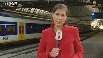 RTL Nieuws Floor Bremer: Eerste trein in Amsterdam