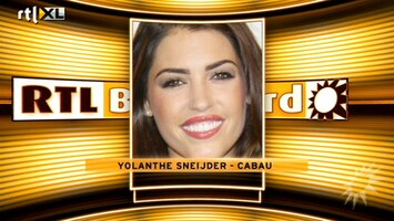 RTL Boulevard Yolanthe in film Pain and Gain