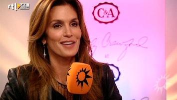 RTL Boulevard Cindy Crawford als modeontwerper