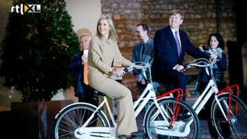 RTL Nieuws Koninklijk paar moet Turken op de fiets krijgen