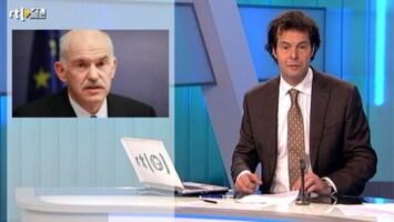 RTL Nieuws 'Griekenland wordt wakker in chaos'