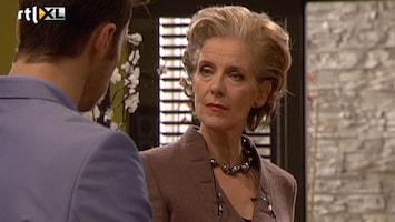 Goede Tijden, Slechte Tijden Lorena eist dat Mike en Laura goed samenwerken