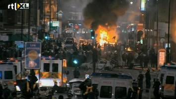 RTL Nieuws Nog altijd dreiging nieuwe rellen in Londen