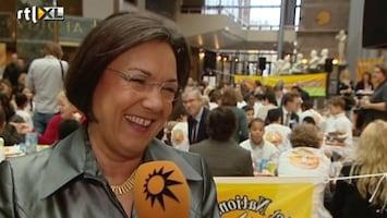 RTL Boulevard Politici ontbijten met kinderen