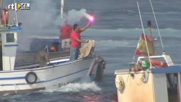 RTL Nieuws Spaanse vissers woedend op Britse Gibraltar